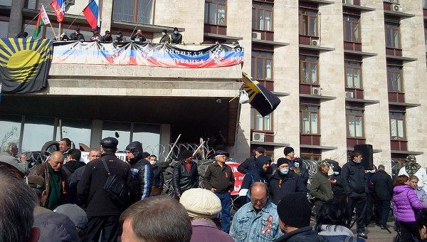 Обстановка в Донецке