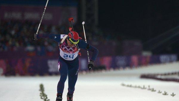 Норвежский биатлонист Уле Эйнар Бьёрндален
