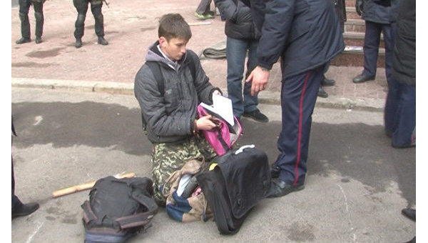 В Харькове проведена антитеррористическая операция