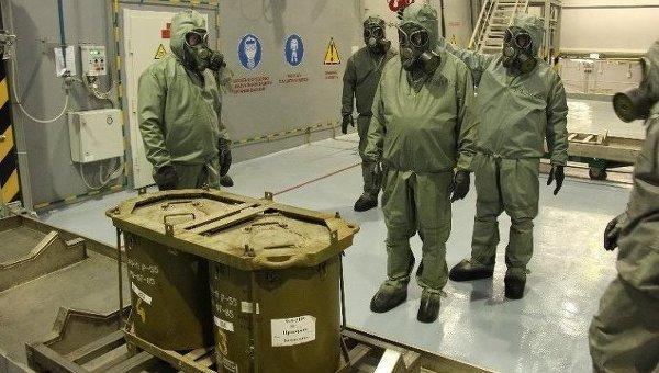 Утилизация химического оружия, архивное фото