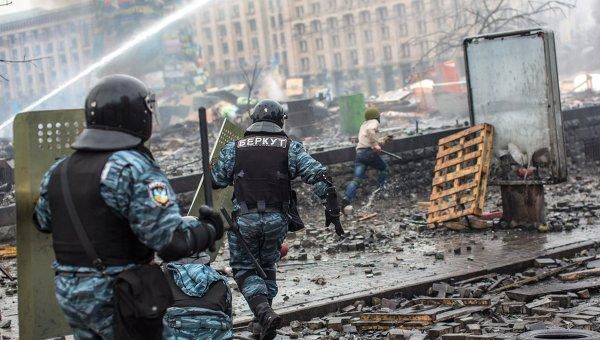 Ситуация в Киеве во время Евромайдана. Архивное фото