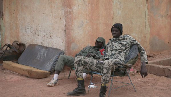 Солдаты правительственных войск Мали, архивное фото