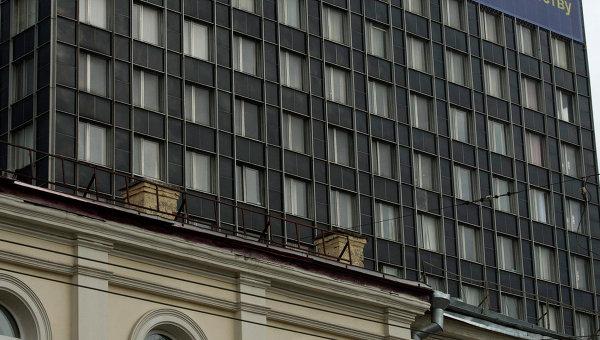 Здание Федеральной службы РФ по контролю за оборотом наркотиков в Москве.