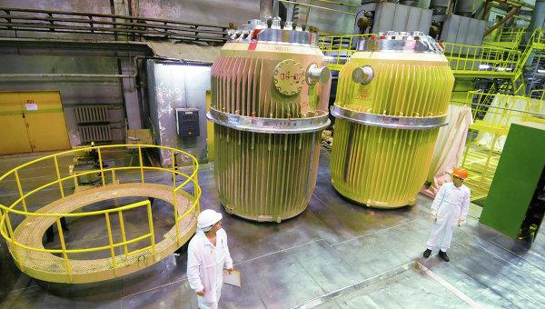 Контейнеры для перевозки ОЯТ на заводе