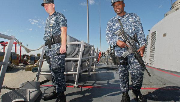 Американские военнослужащие - морские котики. Архивное фото