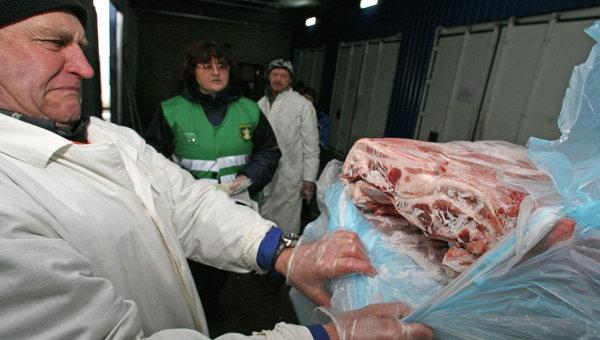 Работа отдела пограничного ветеринарного контроля Россельхознадзора