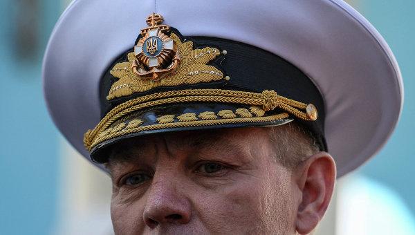 Главнокомандующий ВМС  Украины Сергей Гайдук