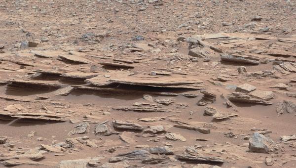 Снимок Марса. Архивное фото
