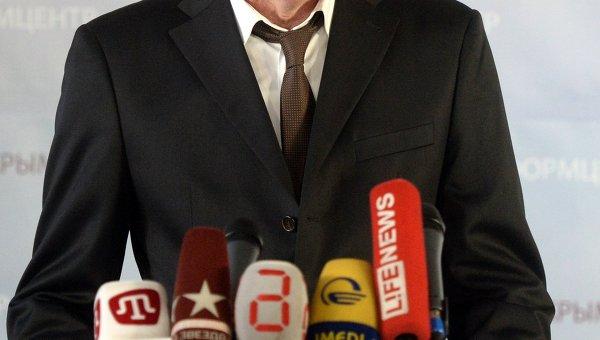 Глава избиркома по референдуму в Крыму Михаил Малышев