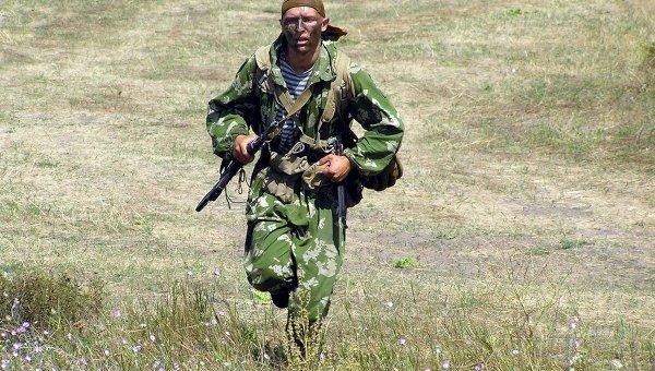 Военнослужащий Сухопутных войск Украины