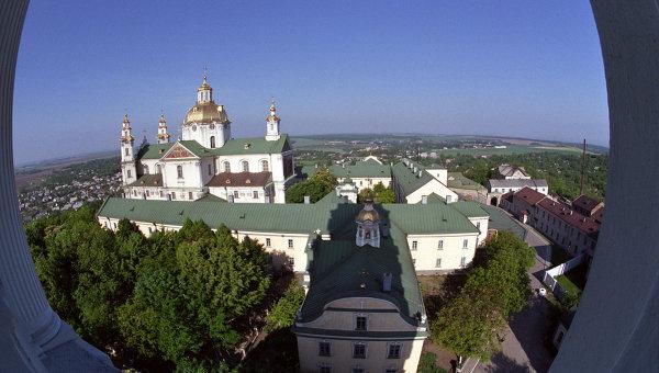 Почаевская Успенская лавра, архитектор Готфрид Гофман. Архивное фото