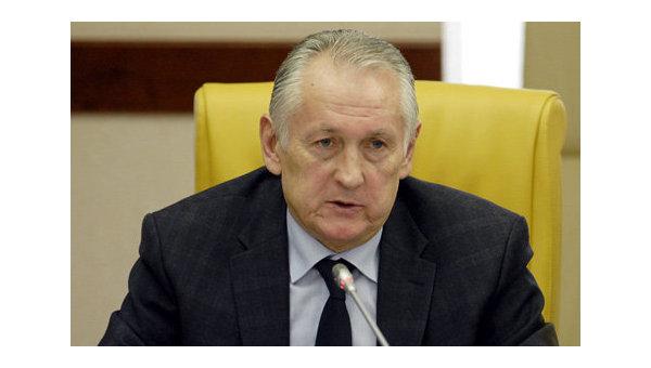 Главный тренер сборной Украины по футболу Михаил Фоменко