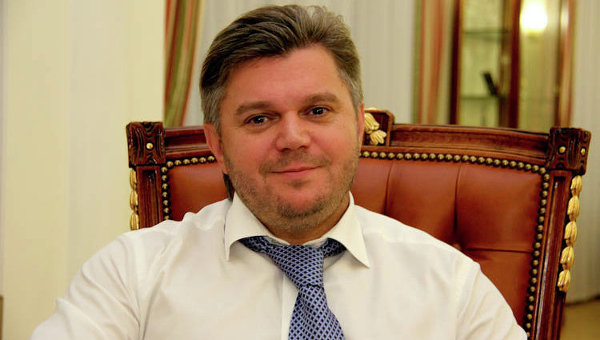 Министр энергетики и угольной промышлености Украины Эдуард Ставицкий