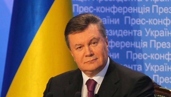 Виктор Янукович на итоговой пресс-конференции