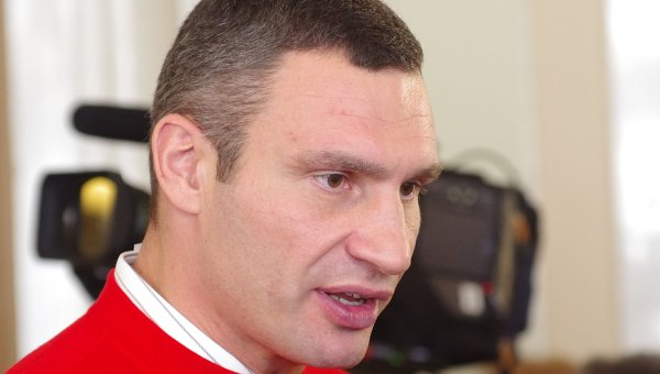 Лидер партии УДАР Виталий Кличко