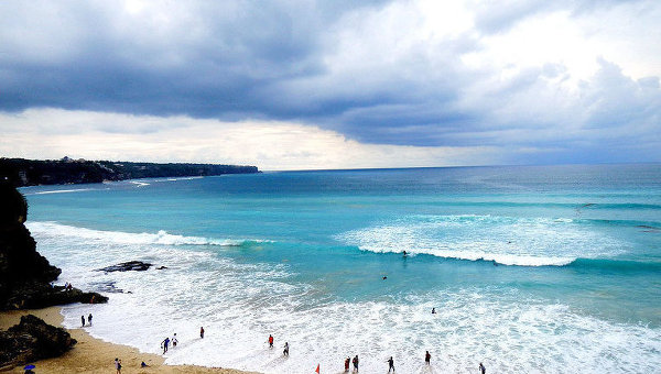 Берег Индийского океана на Бали. Архивное фото