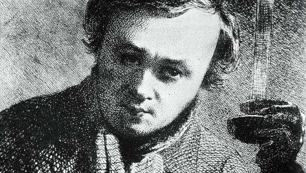 Украинский поэт Тарас Шевченко