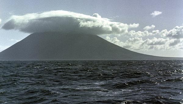 Курильские острова. Вулкан Тятя
