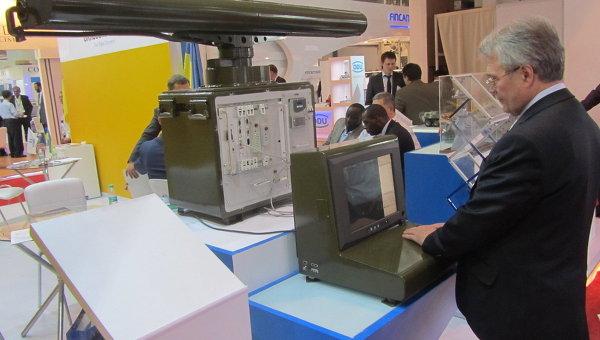 Укроборонпром представил мобильную радиолокационную станцию Дельта на выставке вооружений DEFEXPO-2014