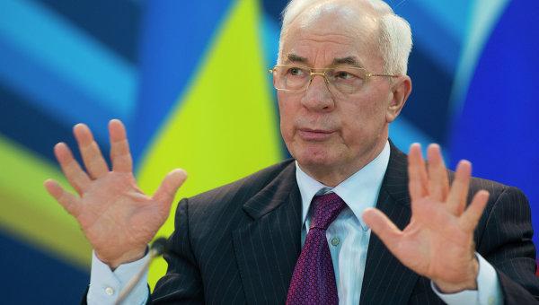 Премьер Николай Азаров. Архивное фото