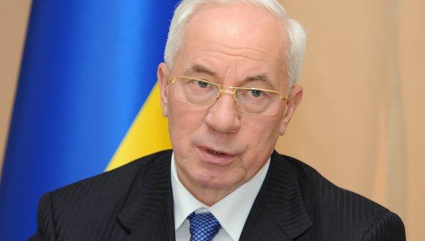 Премьер-министр Украины Николай Азаров
