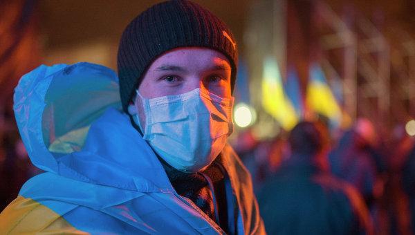 Протесты сторонников евроинтеграции Украины