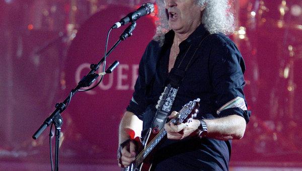 Гитарист британской группы Queen Брайан Мэй