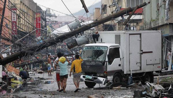 Последствия супертайфуна Йоланда на Филиппинах