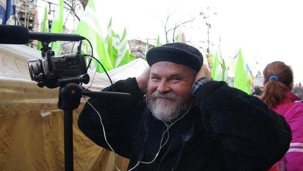 Журналист, писатель Сергей Тышковец