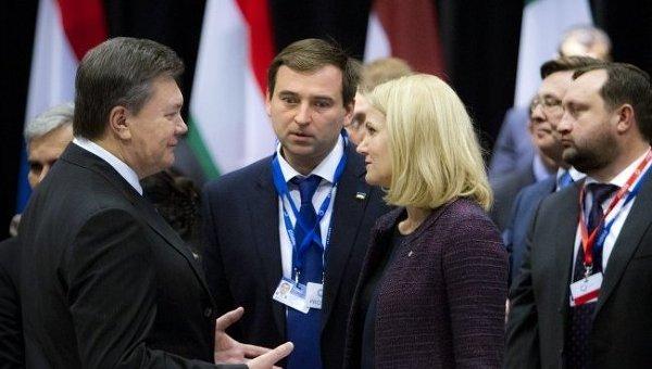 Виктор Янукович на саммите Восточного партнерства в Вильнюсе. Архивное фото