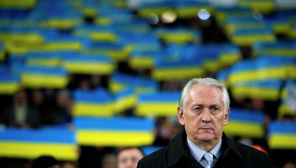 Главный тренер сборной Украины Михаил Фоменко