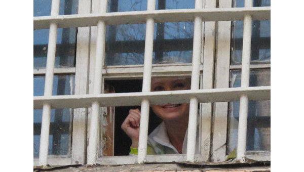 Юлия Тимошенко в Лукьяновском СИЗО