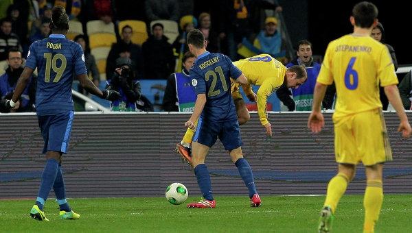 Футболист сборной Франции Поль Погба