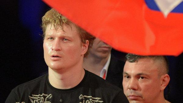 Александр Поветкин и его тренер Костя Цзю