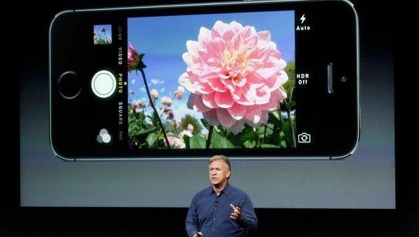 Презентация cмартфона iPhone 5S