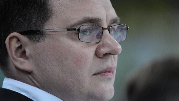 Новый главный тренер хоккейного клуба Донбасс Андрей Назаров
