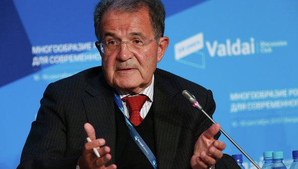Бывший премьер-министр Италии Романо Проди