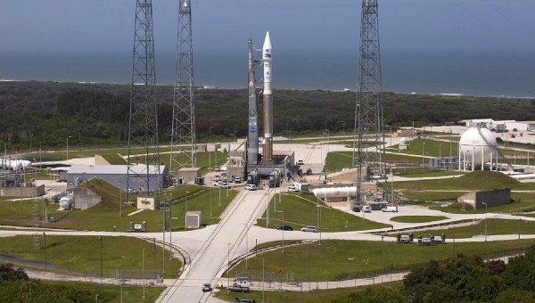 Ракета Atlas V на мысе Канаверал. Архивное фото