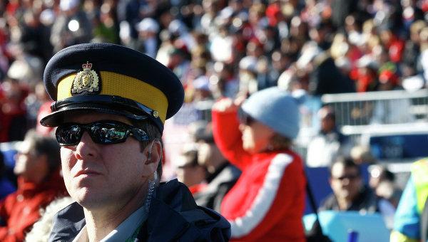 Полицейский Канады. Архивное фото
