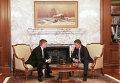 Глава Газпрома и Нафтогаза Алексей Миллер и Андрей Коболев