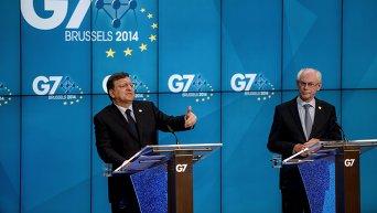 Cаммит стран G7 в Брюсселе