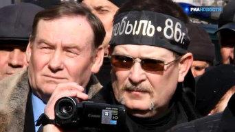 Чернобыльцы под Кабмином потребовали повышения пенсий