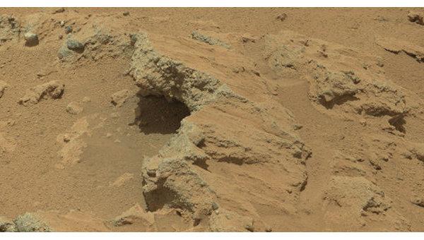 Марсоход Curiosity нашел следы древнего марсианского ручья