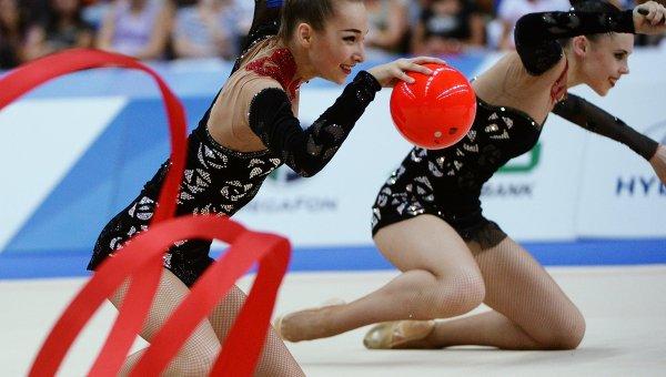 Универсиада. Художественная гимнастика. Сборная Украины - бронза