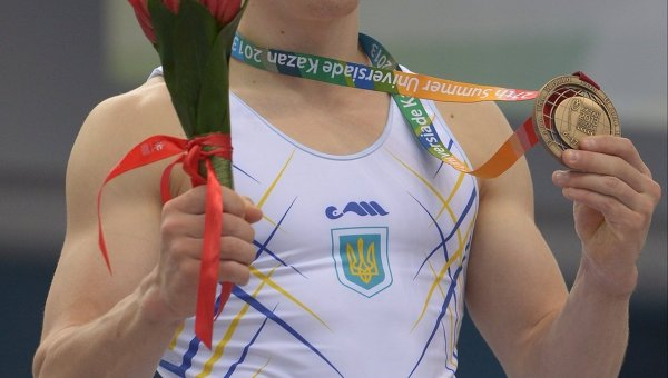 Универсиада. Спортивная гимнастика. Олег Верняев (Украина) - бронза