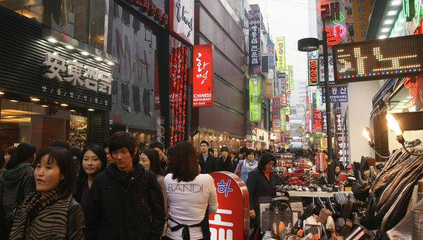 Предвыборная кампания кандидатов в президенты стартовала в Южной Корее