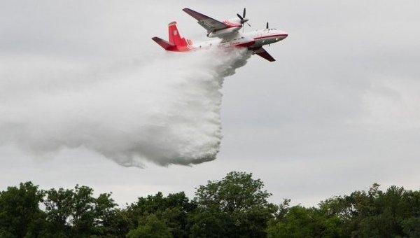 Масштабный лесной пожар наХерсонщине: полыхает практически 40 гектаров