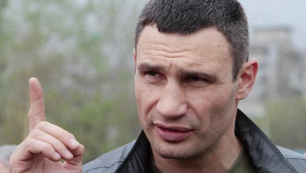 Боксер Виталий Кличко