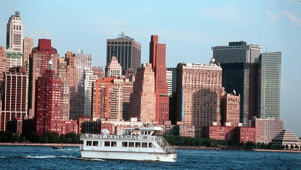 Остров Манхэттен в Нью-Йорке. Архивное фото