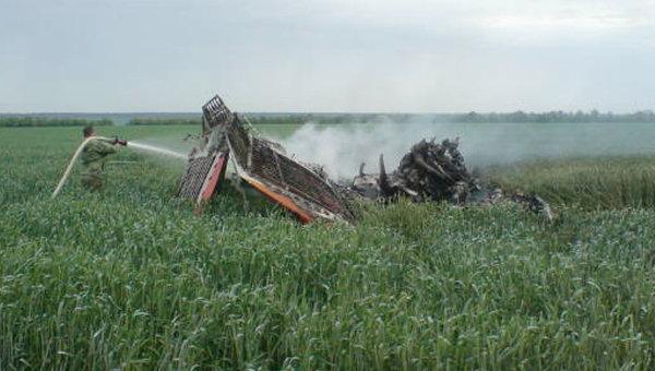 Аварийная посадка легкомоторного самолета в Ставропольском крае